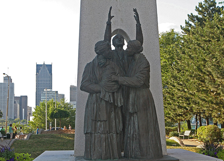 Underground Railroad Memorial, Windsor