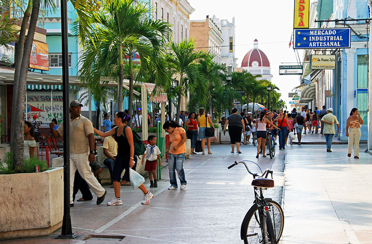 Avenida 54 shopping district, Cienfuegos