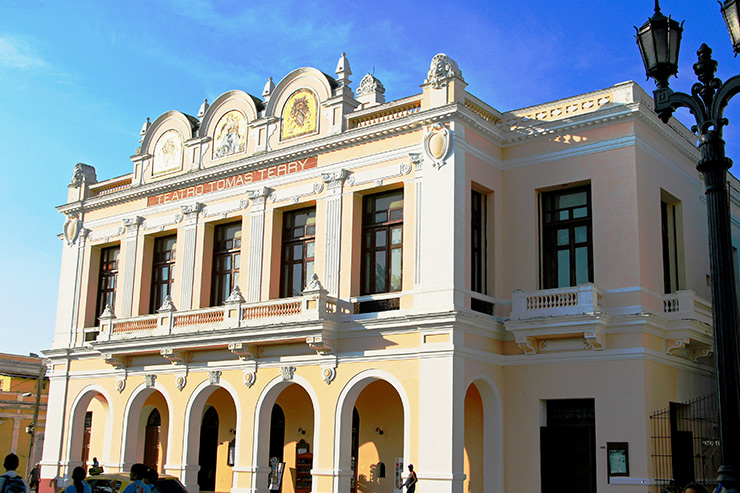 Teatro Tomas Terry at Plaza Jose Marti, Cienfuegos