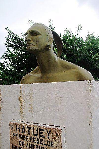 Taino leader Hatuey monument