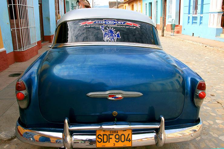1953 Chevy in Trinidad