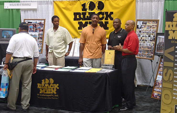100 Black Men at Indiana Black Expo, Indianapolis Events
