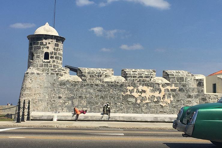 Old Spanish fort, Matanzas