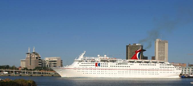 Carnival cruise ship, Mobile