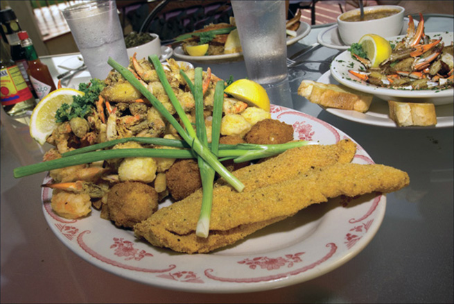 Catfish, Crab and Shrimp in Mobile, Mobile Restaurants