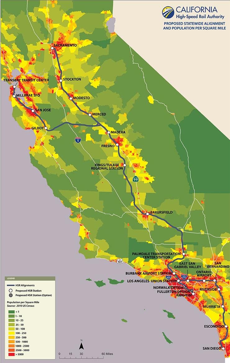 Map Of California High Speed Rail.California High Speed Rail Soul Of America Blog