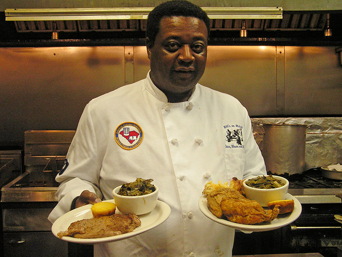 Chef Barry Walker, Mac's on Main