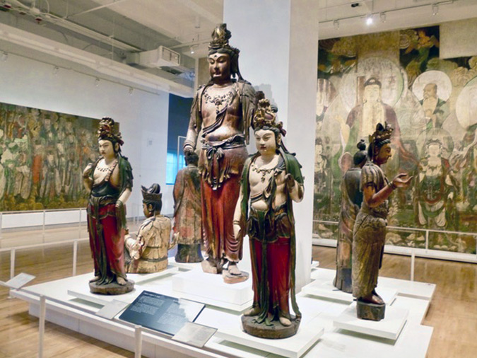 Oriental gallery at Royal Ontario Museum