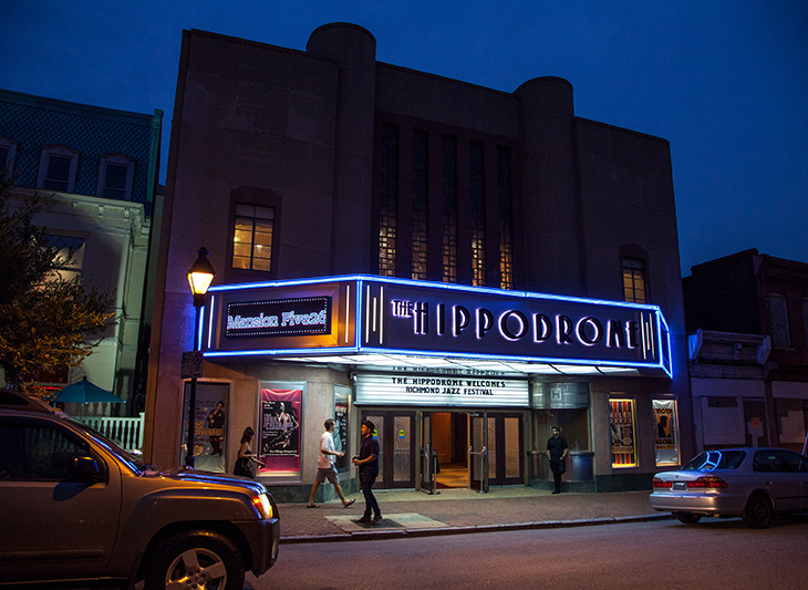 Hippodrome Theatre hosting Richmond Jazz Festival, Richmond Arts