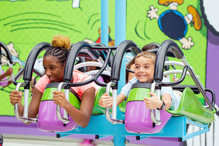 Kings Dominion ride, Richmond Family Attractions