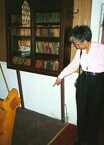 St. David AME Zion Church slave hideout, Sag Harbor Heritage Sites