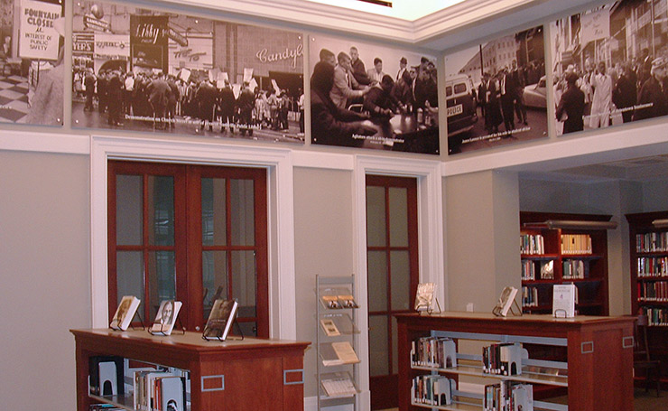 Civil Rights Collection in Nashville Public Library