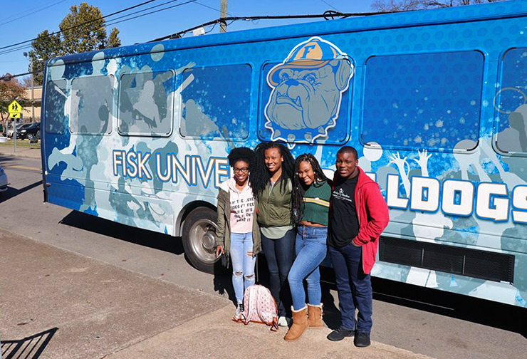 Fisk University students, Nashville Cultural Sites