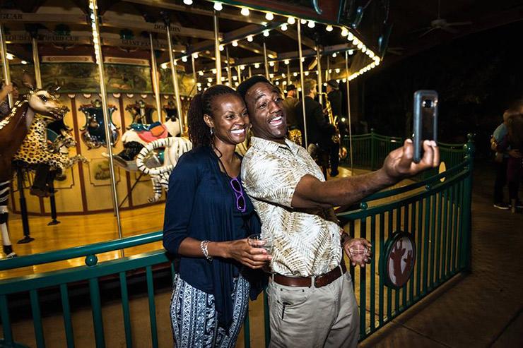 Family at Nashville Zoo
