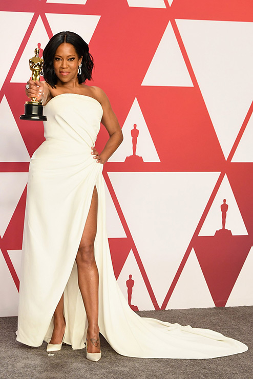 Regina King wins Best Supporting Actress Oscar