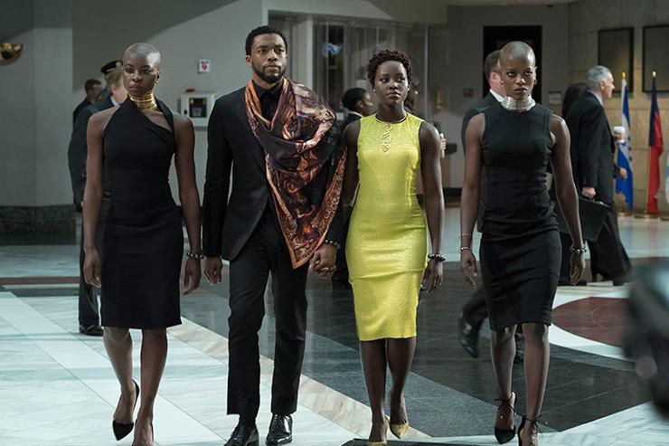 Wakanda royalty visits America