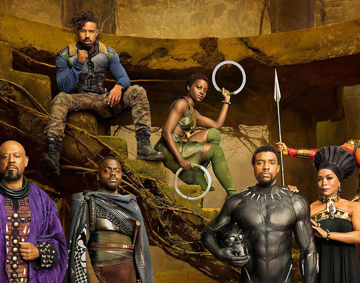 Black Panther movie released in 2018