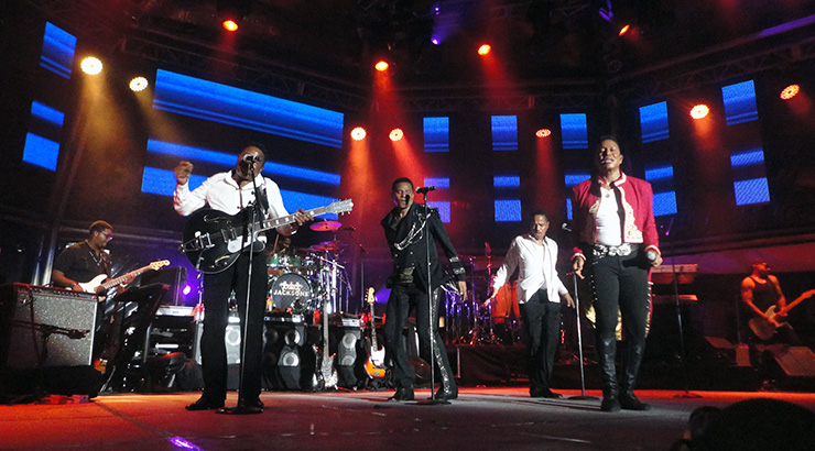 The Jacksons at St. Lucia Jazz & Arts Festival - R&B Headliners