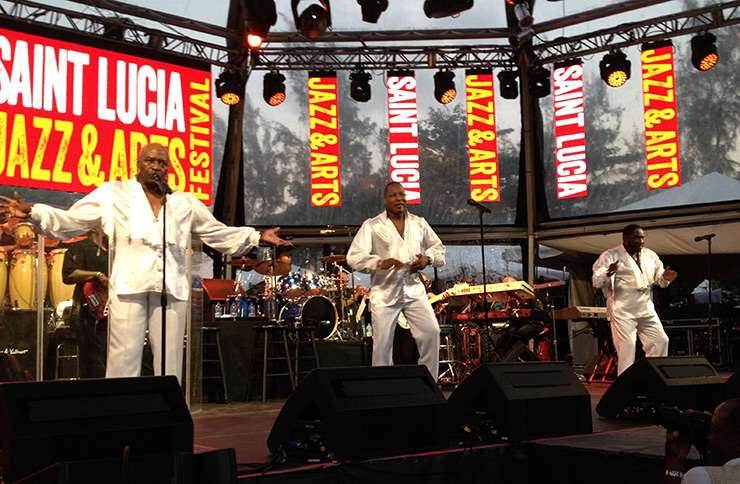 St. Lucia Jazz & Arts Festival, - R&B Headliners