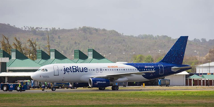 JetBlue, St. Lucia Transportation