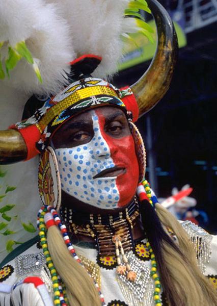 Carnival chief, Trinidad