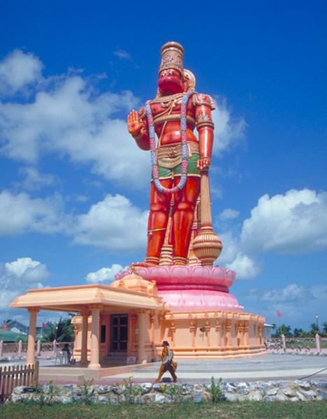 Hanuman Murti monument, Trinidad