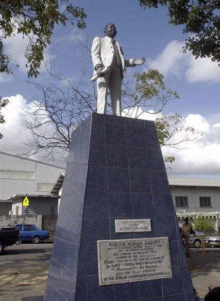 Marcus Garvey monument