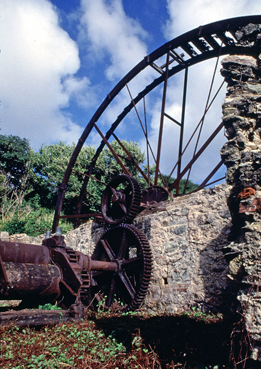 Historic sugar mill in Speyside, Trinidad