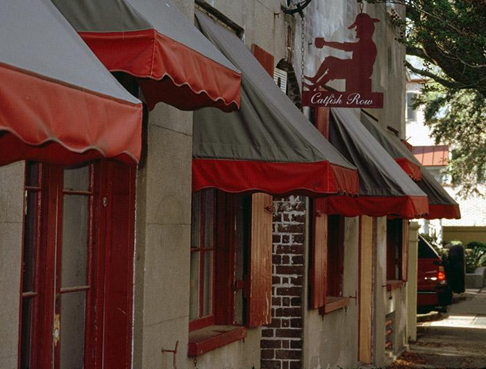 Catfish Row in Charleston