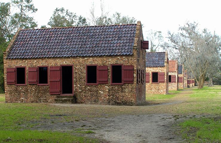 Drayton Plantation slave cabins, Charleston Historic Sites