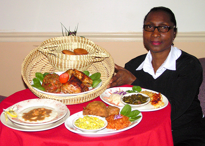 Gullah Cuisine owner welcomes you to Charleston