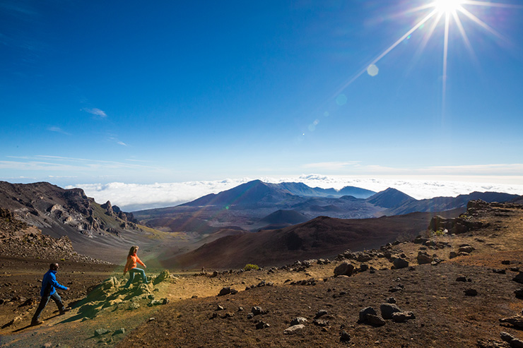 Walking up Haleakala Crater, Maui Travel Tips