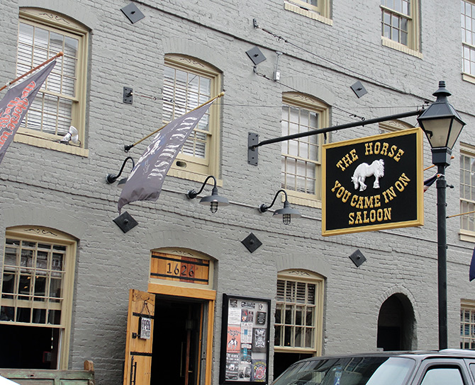 The Horse You Came In On, Fells Point
