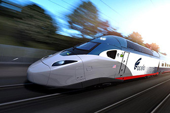 Acela High Speed Rail Progress