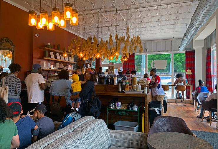 Uncle Bobbie's Coffee & Books, Philadelphia