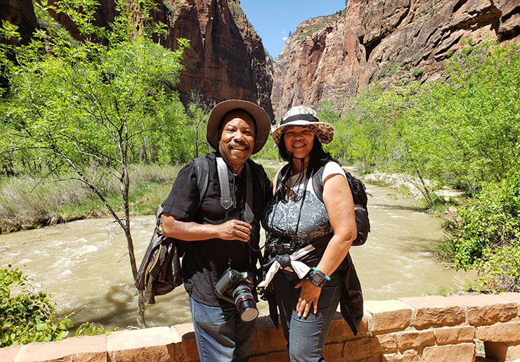 Paul and Teresa Lowe Glampin' In The National Parks
