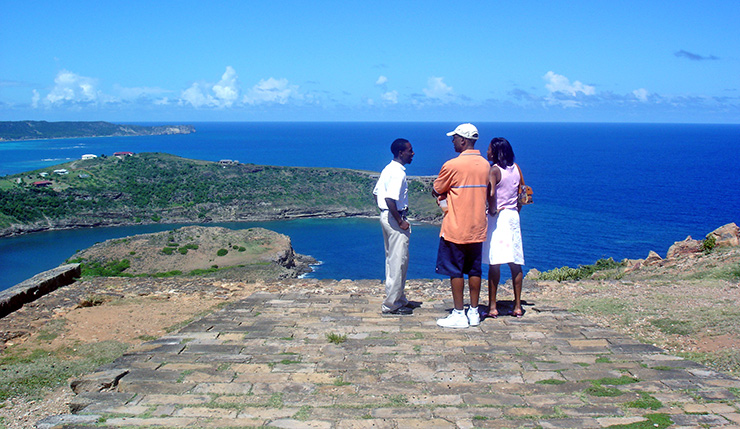 View from Shirley Heights, Antigua Attractions