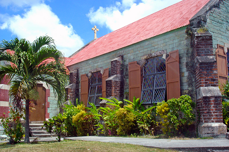Oldest church, Antigua History