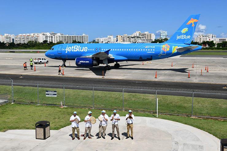 JetBlue, Puerto Rico Transportation
