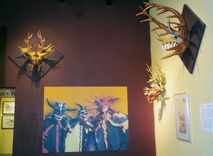 Museo Nuestra masks, San Juan Cultural Sites