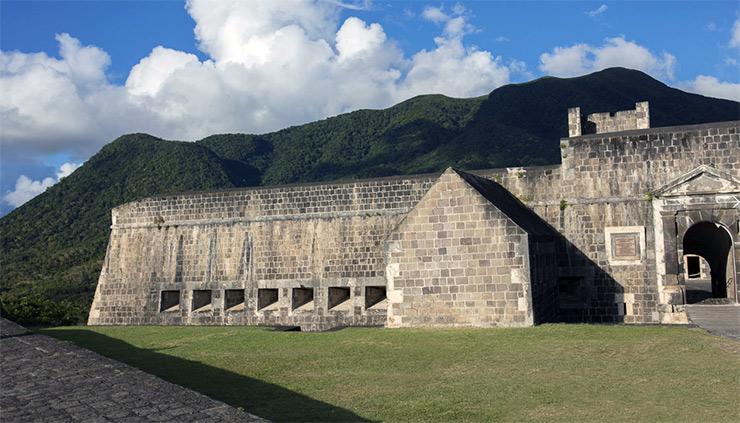 Brimstone Fortress on St. Kitts
