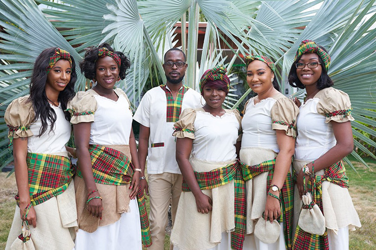 St. Kitts Tourism Experience staff