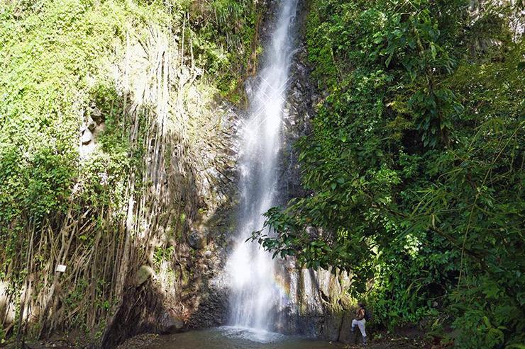 Wonderful calming waters of Dark View Falls, St. Vincent Eco-Travel