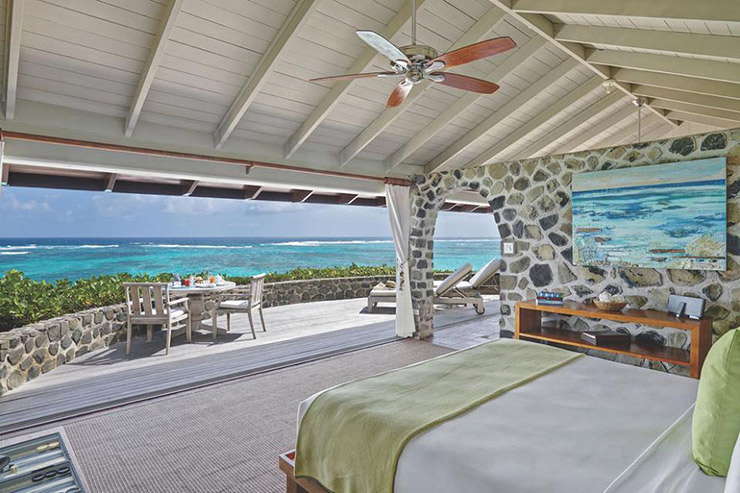 A beachside hotel view, St. Vincent Hotels