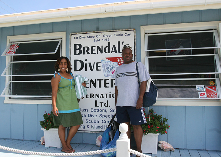 Brendals Dive Center in Abaco