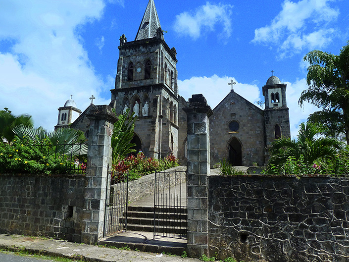 Our Lady of Fair Haven Cathedral in Dominica History