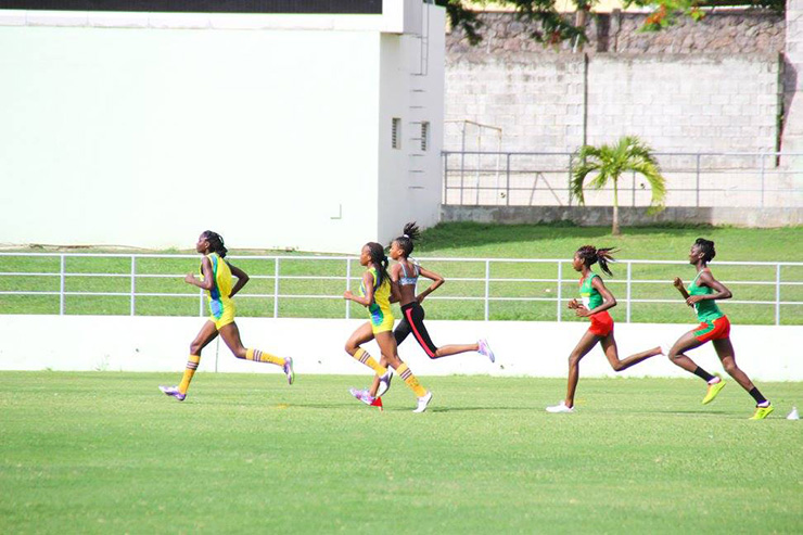 Dominica women track team practicing, Dominica Travel Tips