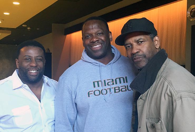 Denzel Washington visits Savoy Restaurant, Pittsburgh Restaurants