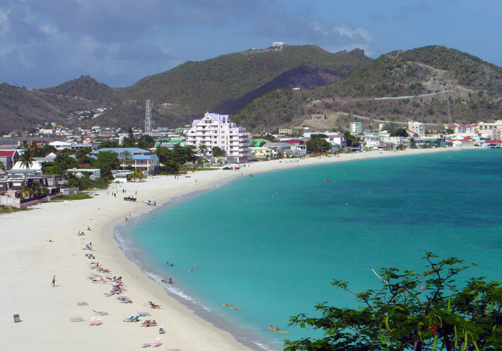 Great Bay Beach, St. Maarten