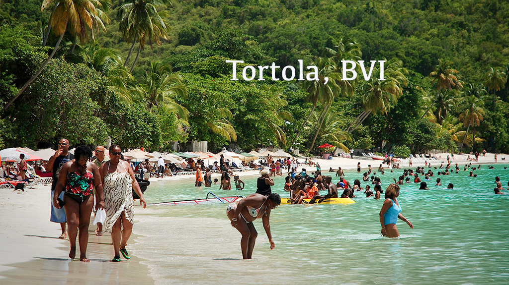 Tortola BVI, Black Travel